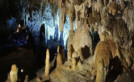 Vista delle Grotte di Stiffe