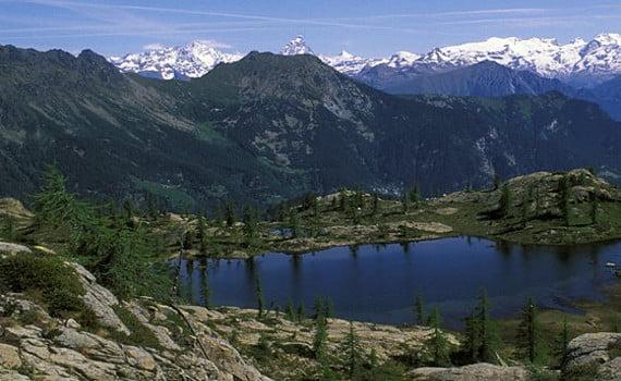 Veduta Parco Naturale Mont Avic