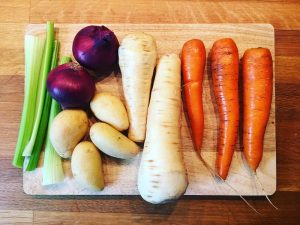 Jeden Tag Gemüse. Zu jeder Mahlzeit.