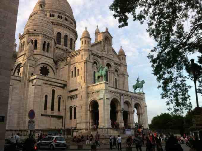 Sacrée coeur -Barrio de Montmartre en Paris