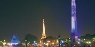 Chrisymas Lights in Paris - Concorde