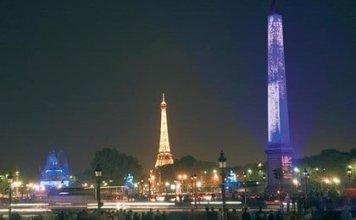 Chrisymas Lights in Paris - Concorde