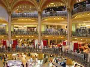 Galerias comerciales Galerie la Fayette - París