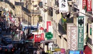 Sitios de compras en rue de Rennes, en París