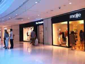 Tiendas en el Centro Comercial Beaugrenelle