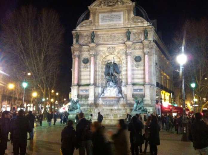 Place St Michel Paris