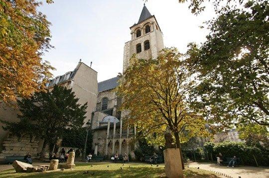 Saint Germain des prés Church in Paris