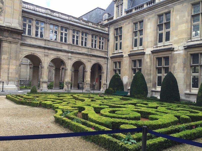 Carnavalet Museum in the Marais Neighborhood