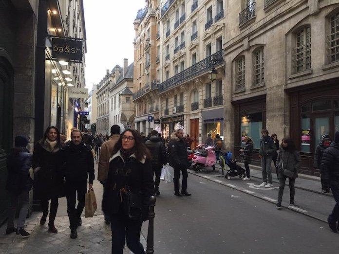 Rue des Francs Bourgeois straat