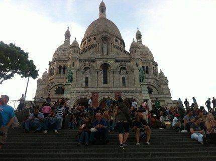 Basílica del Sacré Coeur - París