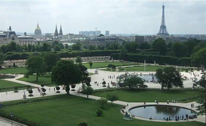 Tuileries garden - Paris in  3 days & 2 nights