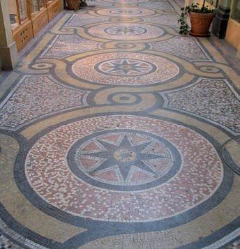 Mosaico de la Galería Vivienne