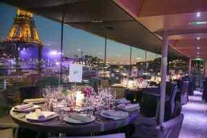 Cena-crucero de Nochevieja en París