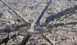 Place de L'etoile - Plaza de Charles de Gaulle- París