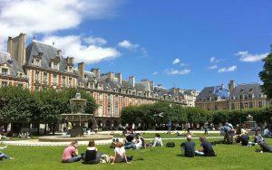 Plaza des Vosges -París - Marais