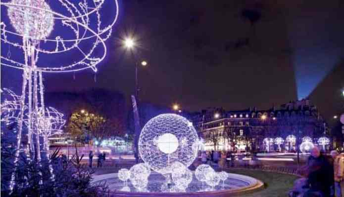Paris Weihnachtsbeleuchtungs-Tour