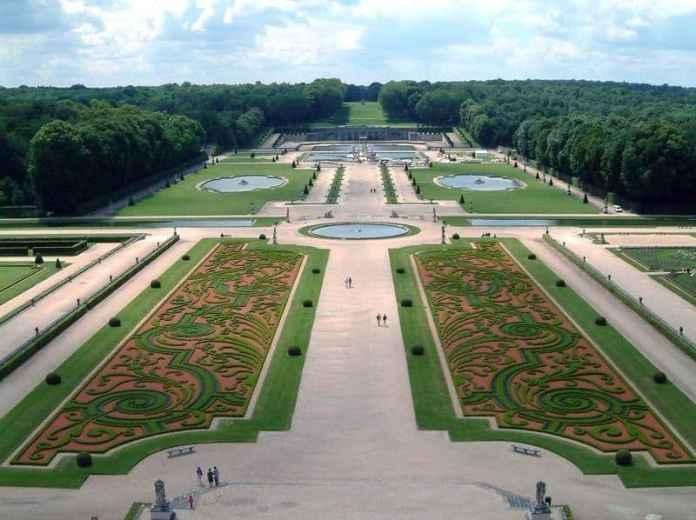 Jardines de Vaux le Vicomte