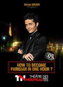 Show How to become Parisian in one hour