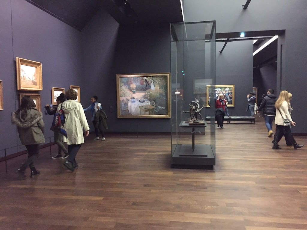 Orsay Museum at late opening on Thursday