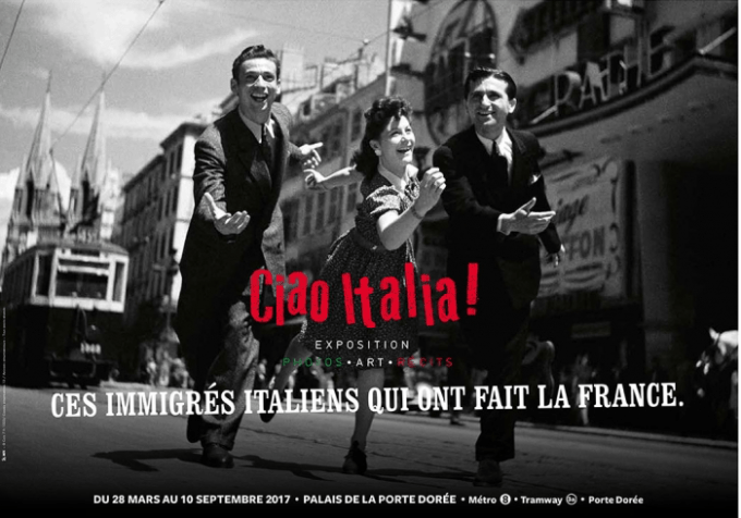 Exhibit Ciao Italia Paris
