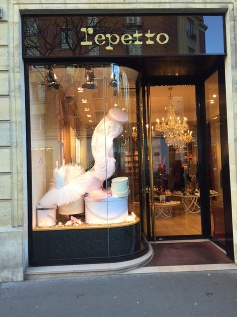 Repetto Shoe Store at le Marais Paris
