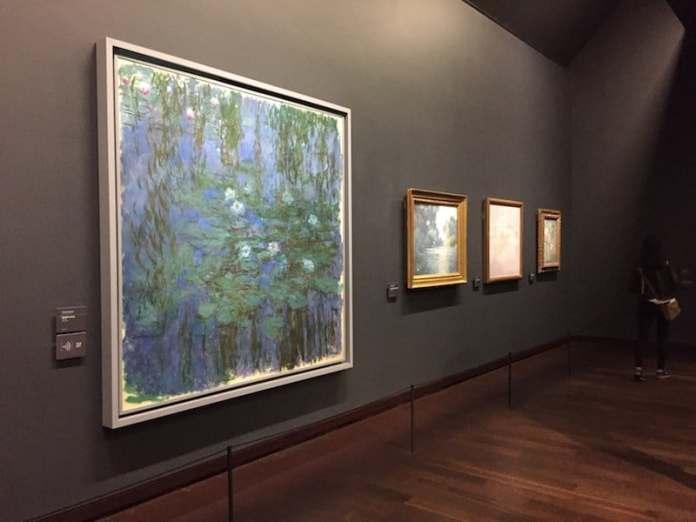 Monets Seerosen im Orsay Museum