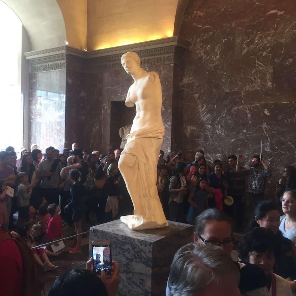 Die Venus de Milo im Louvre