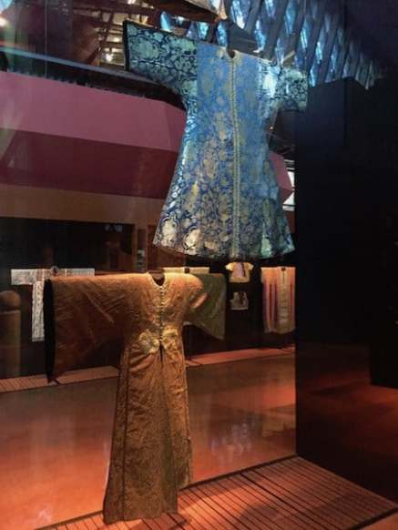 Kaftans en el Museo de Quai Branly
