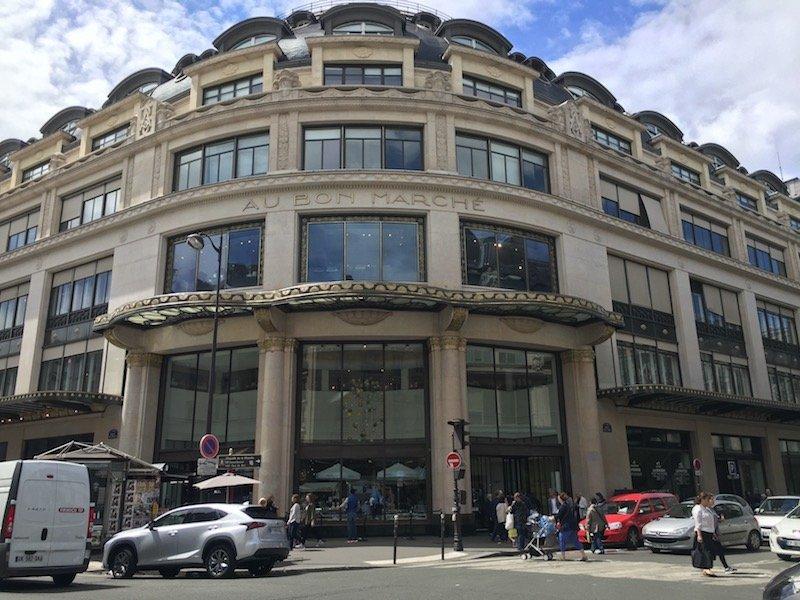 Le Bon Marché winkel Parijs