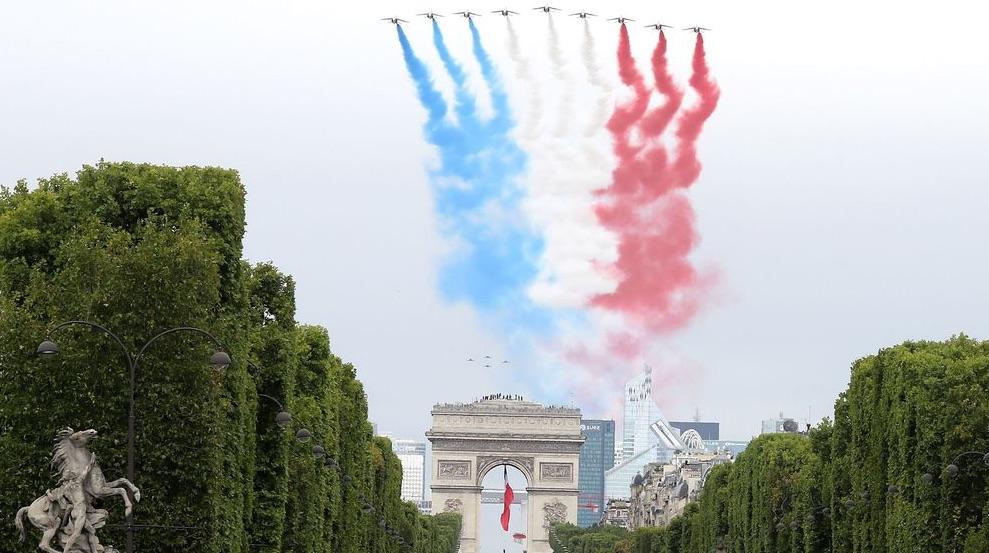 14 julio en París