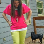 My Attempt at Fashion: Lime Jeans THREE WAYS!