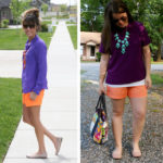 FASHION-SPIRATION: Purple and Orange