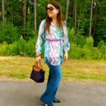 Yeah, I wore this blouse again… AND THE TRIANGLE BLOGGER ANNOUNCEMENT!