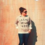 DIY Créme de la Créme Sweatshirt & #YOLOmondays Link-up!
