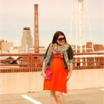Orange + Ikat + #YOLOmondays Link-Up!