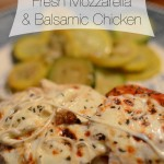 RECIPE: Fresh Mozzarella & Balsamic Chicken + Funday Monday Link-Up