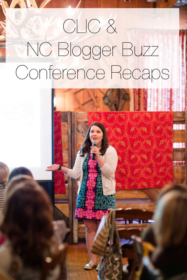 CLIC Conference & NC Blogger Buzz Recap