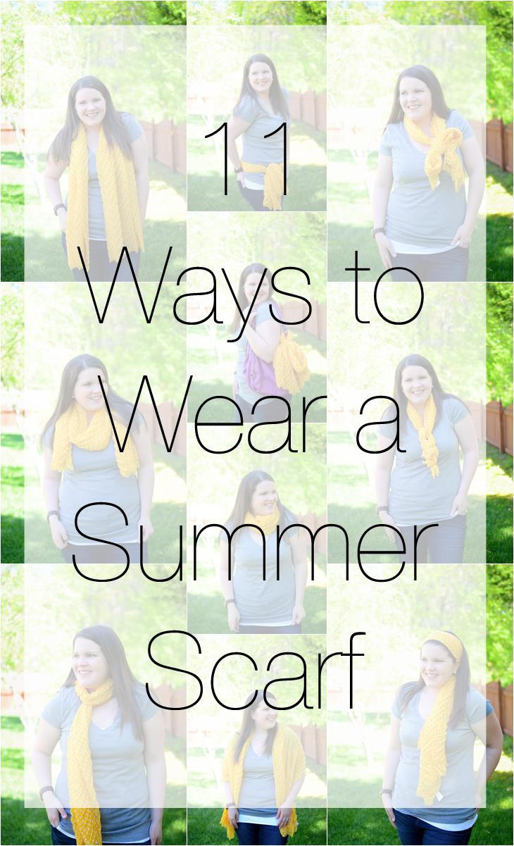 11 Ways to Wear a Summer Scarf (12)