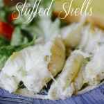 RECIPE | Pesto Chicken Stuffed Shells & Link-Up!