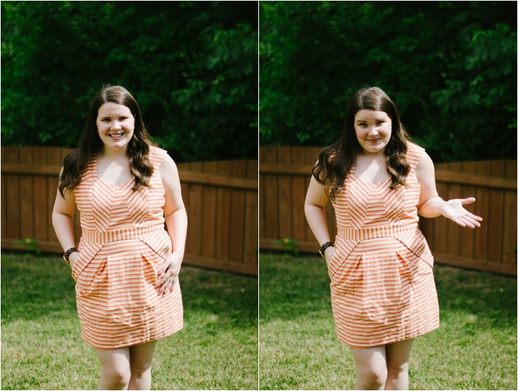 "Pink Martini ""Sally Mixed Striped Dress"" - June Stitch Fix Review"