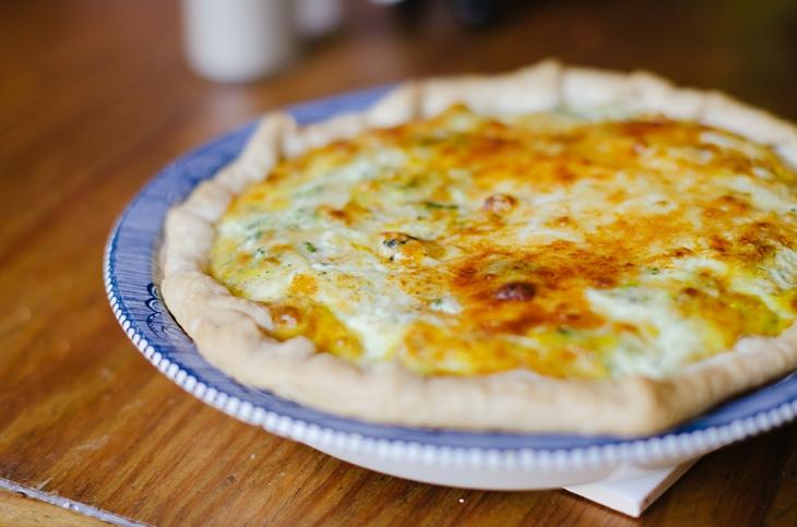 RECIPE | Chicken, Broccoli & Cheese Quiche (1)