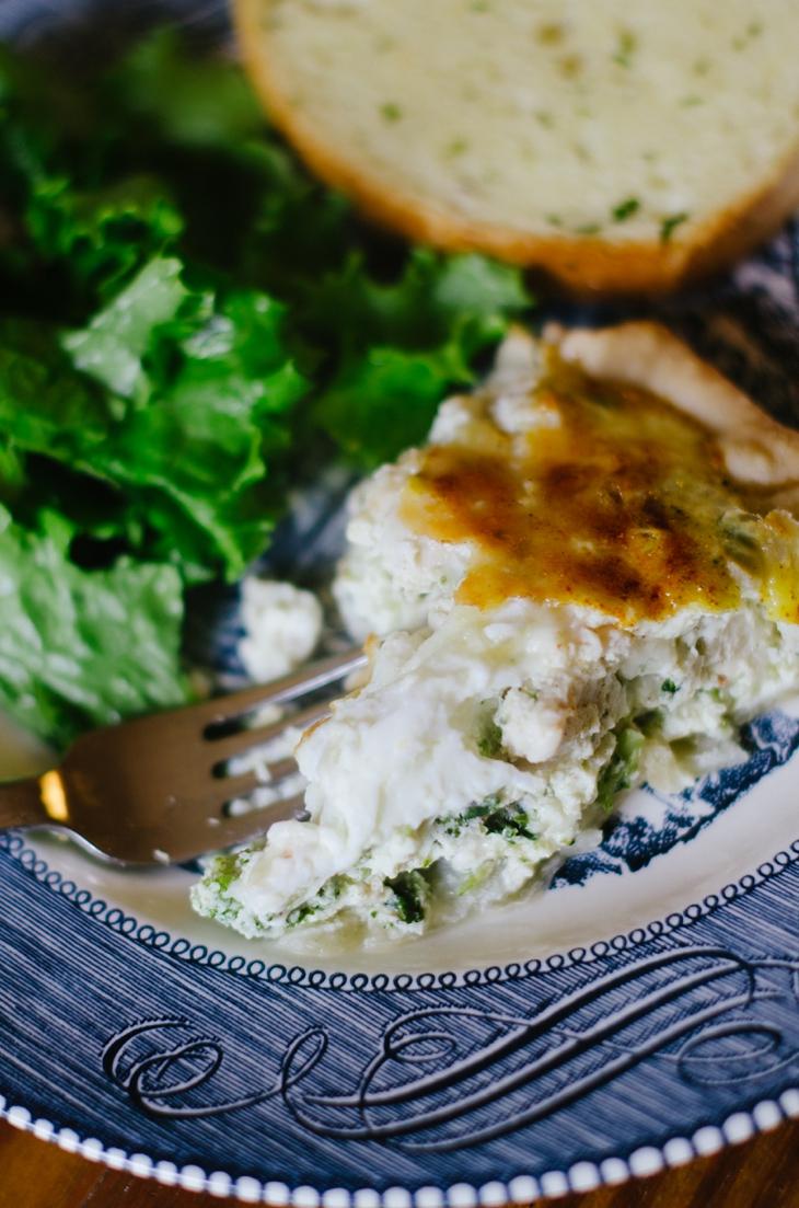 RECIPE | Chicken, Broccoli & Cheese Quiche (3)