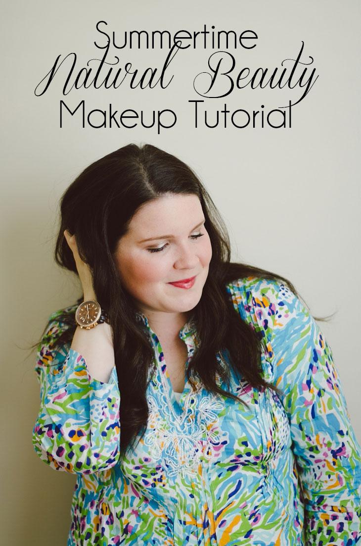 Natural Beauty | Summertime Makeup Tutorial #WalgreensBeauty #spon #CollectiveBias (24)