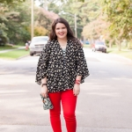 Fall Must Have: Colored Denim (and Link-Up!)
