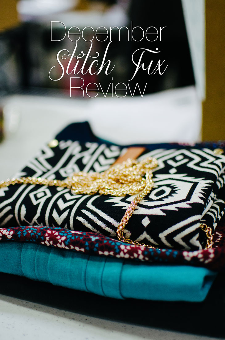 December 2014 Stitch Fix Review | What I Got & What I Kept