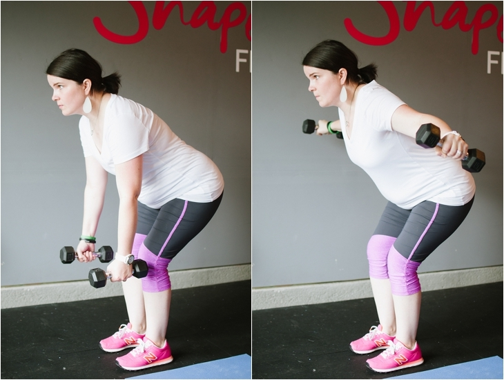 Pregnancy and Prenatal Fitness   15 Minute Low Impact Workout (8)