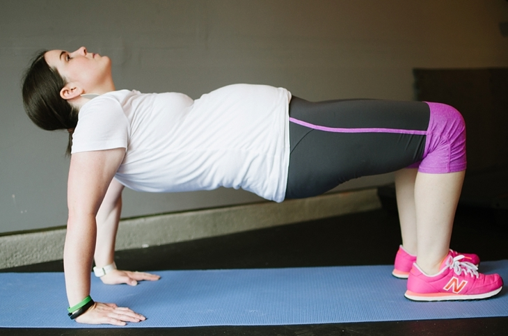 Pregnancy and Prenatal Fitness   15 Minute Low Impact Workout (14)
