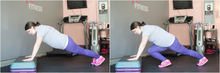 Fitness Friday | Easy At-Home Prenatal Step Cardio Workout (4)