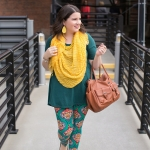 Another Way to Wear Printed Leggings