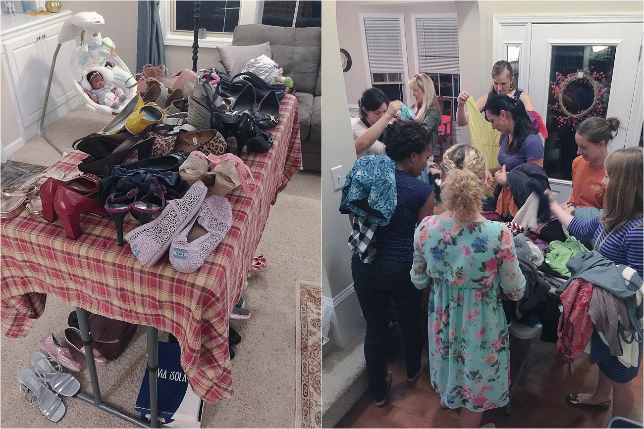A Clothing Swap Party - An eco-friendly way to clean out and spice up your closet (4)